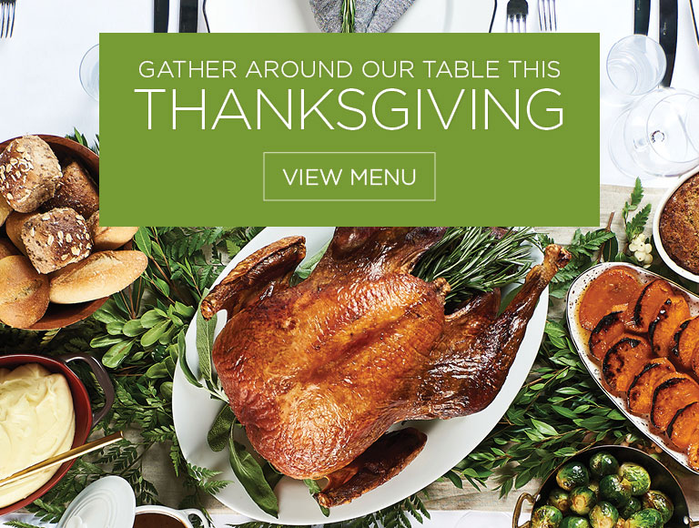 View Menu | Gather Around Our Table This Thanksgiving