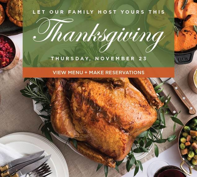 Thanksgiving at Stella 34