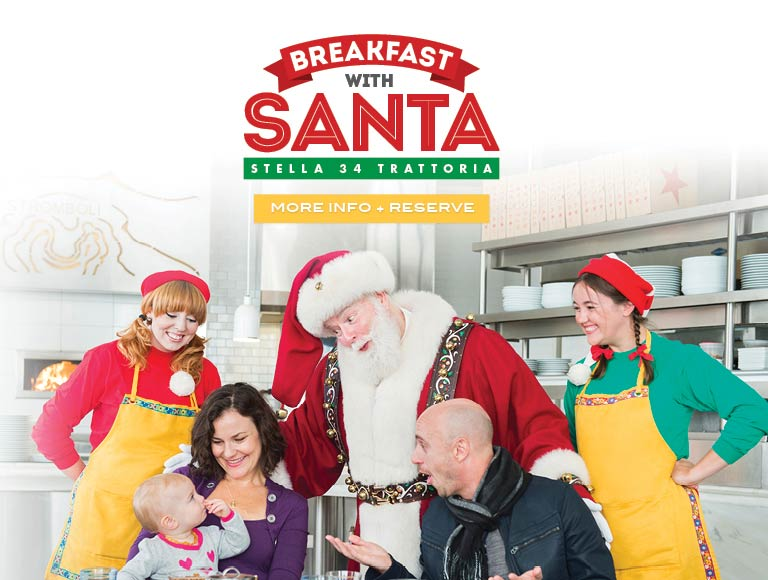 Learn more & reserve for Breakfast with Santa at Stella 34
