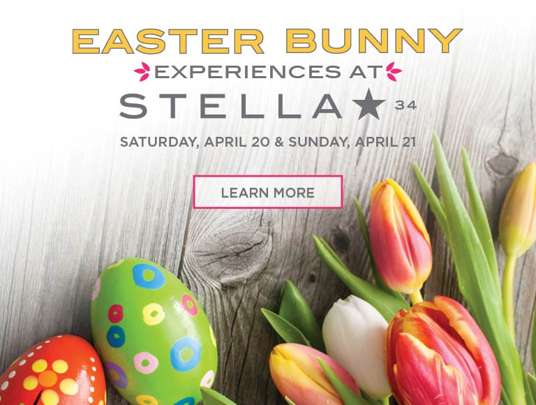 Learn more about the Easter Bunny Experience at Stella 34 | April 20 & 21 | Macy's Herald Square, NYC