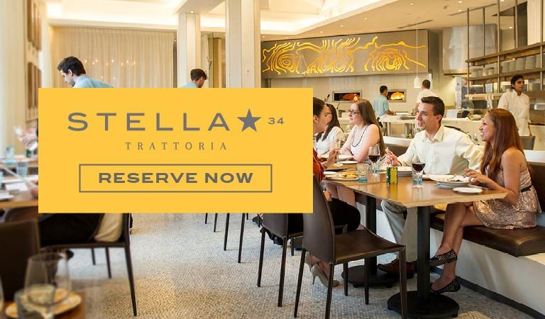 Reserve Now at Stella 34 Trattoria in New York, NY