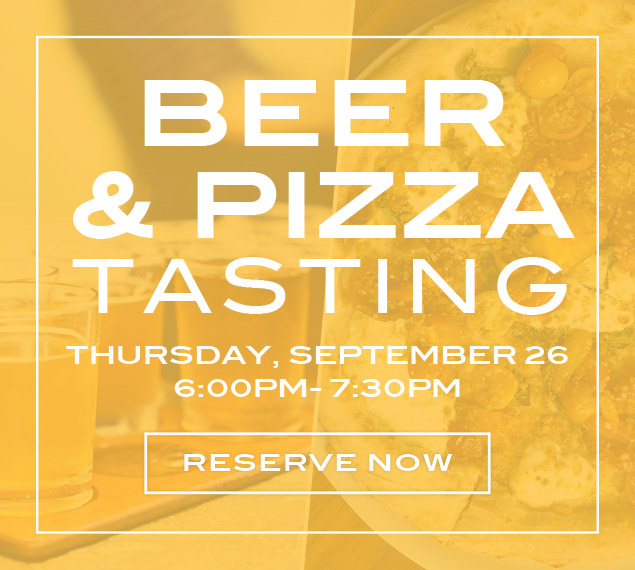Reserve Now | Beer & Pizza Tasting at Stella 34 in NYC | Thursday, September 26 from 6:00-7:30PM