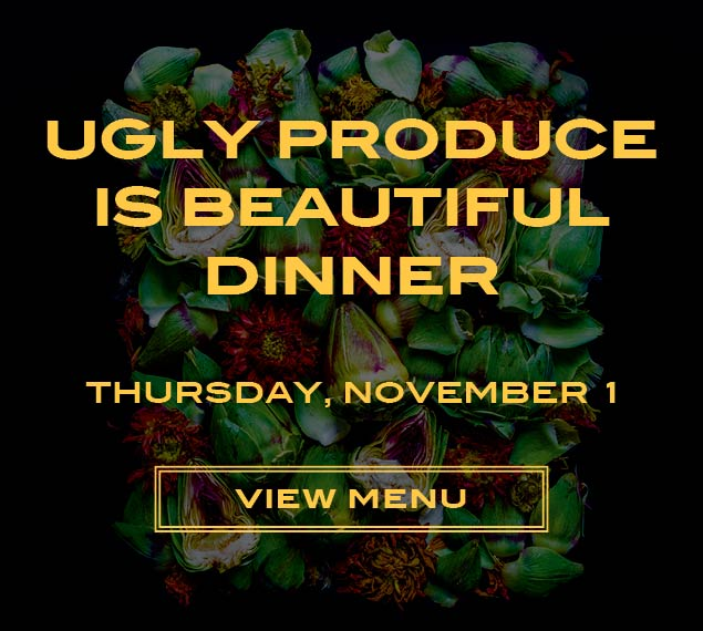 View Menu forUgly Produce Dinner