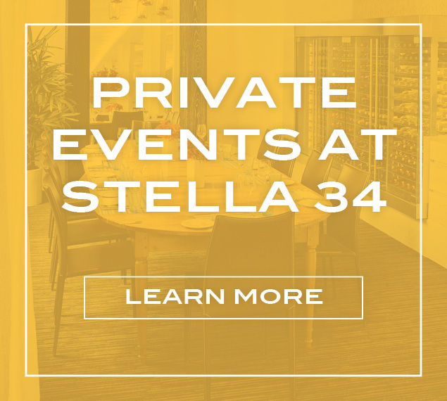 Private Events at Stella 34