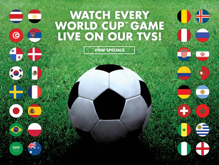 watch every world cup game live on our tvs