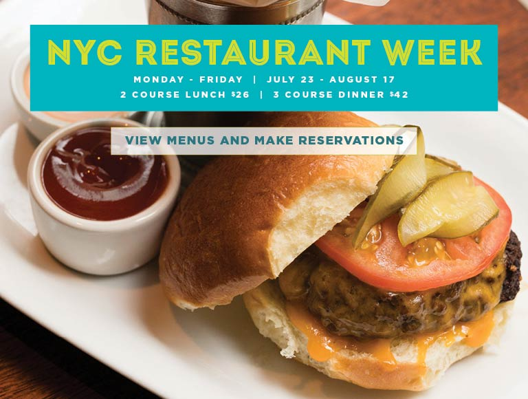 View Menu and Reserve for New York City Summer Restaurant Week