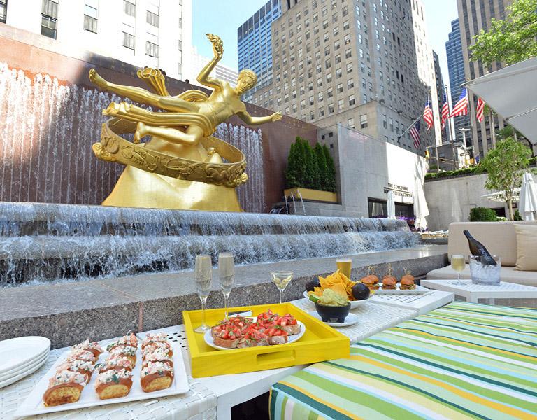 Outdoor Restaurant NYC