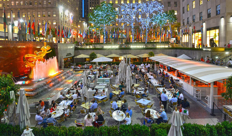 Private event space in Rockefeller Center in Midtown NYC
