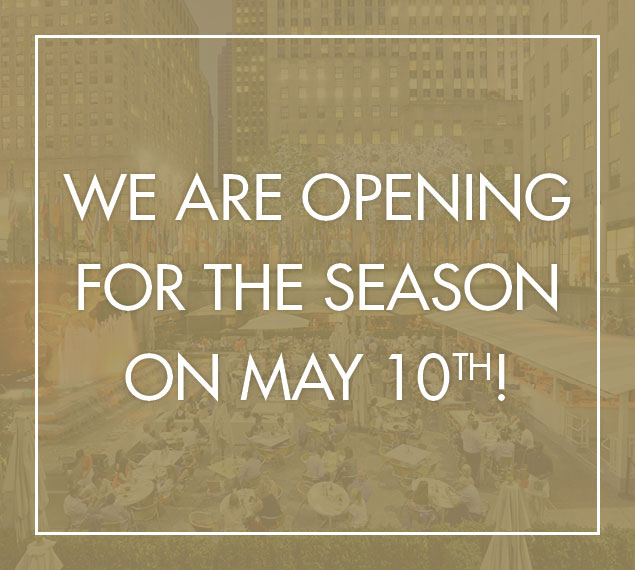 We are opening for the season on May 10th