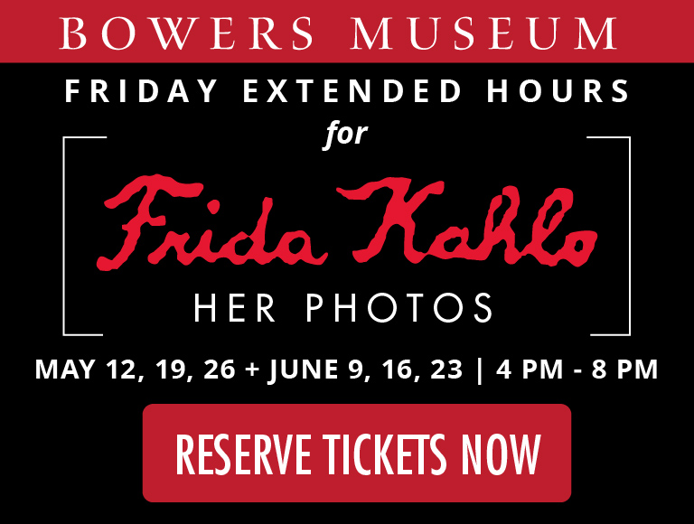 Frida Kahlo Exhibit Orange County