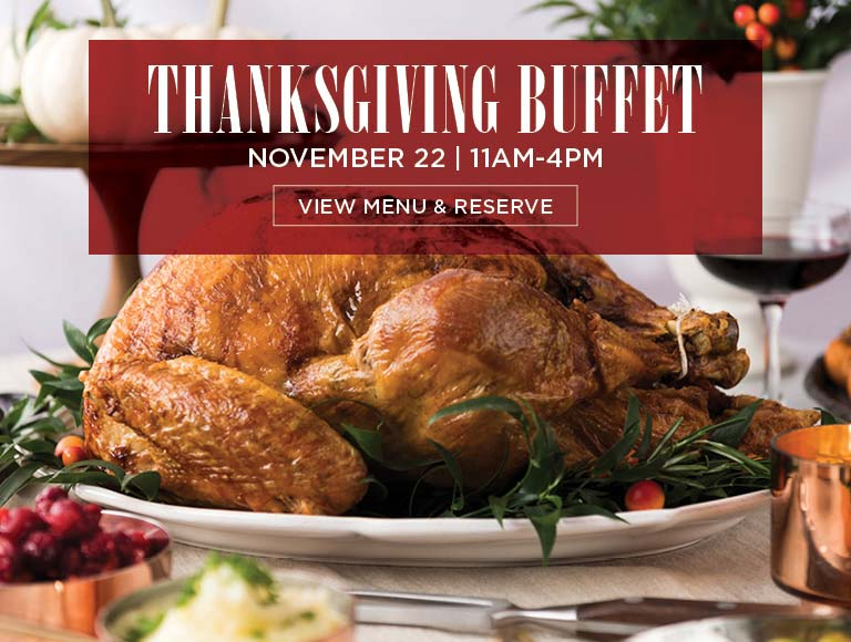 View Menu & Reserve for Thanksgiving Buffet, Bowers Museum