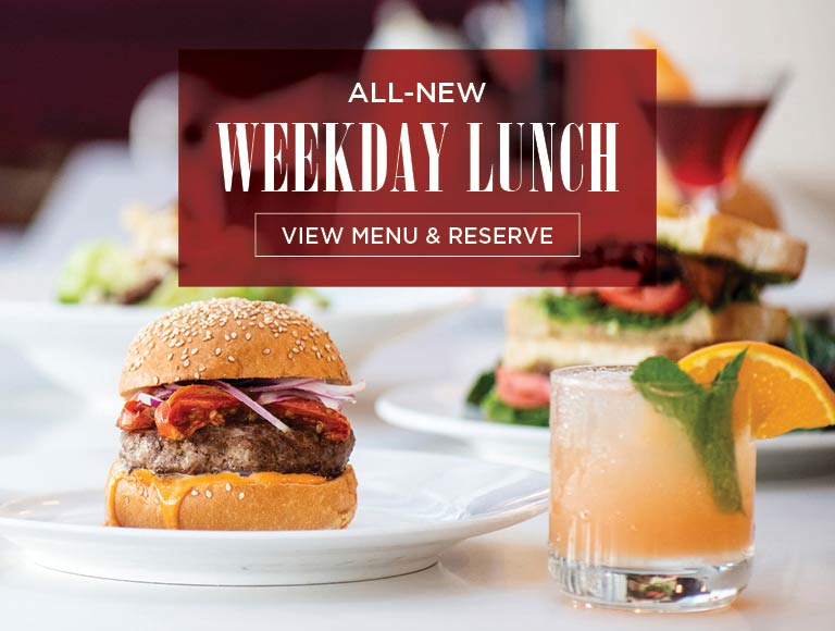 View Menu & Reserve for Weekday Lunch, 11am-3pm, Bowers Museum restaurant