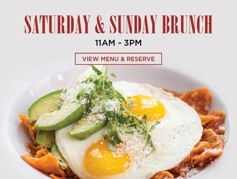 View Menu & Reserve for Saturday & Sunday Brunch, 11am-3pm, Bowers Museum Restaurant