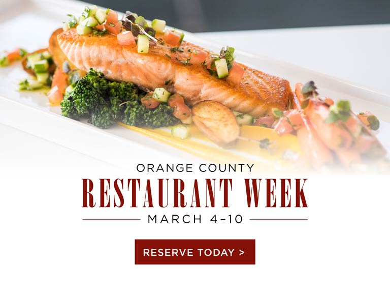 Orange County Restaurant Week 2018