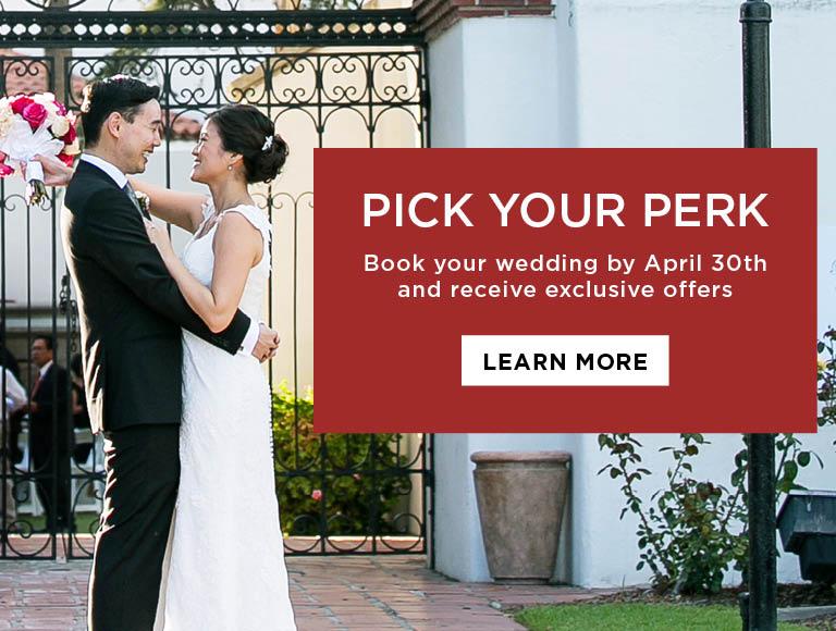 Pick Your Perk | Weddings at Tangata