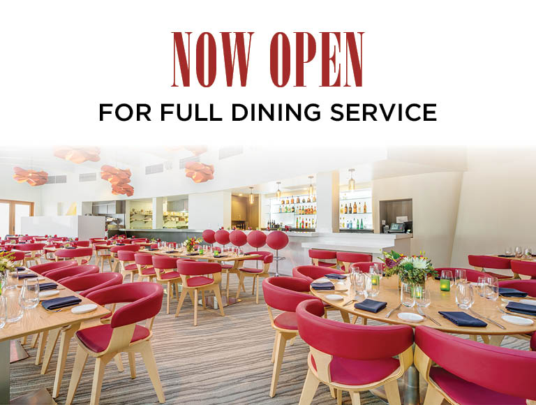 Now open for full dining services