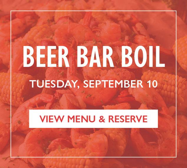 View Menu & Reserve | Beer Bar Boil on Tuesday, September 10 at The Beer Bar in NYC