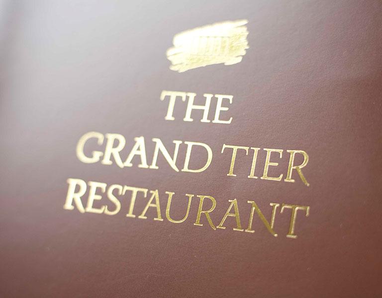 The Grand Tier Restaurant Lincoln Square