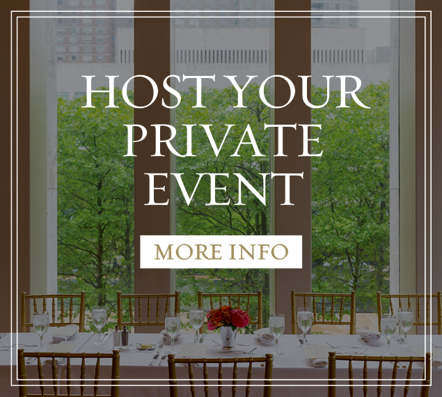 Host your private event
