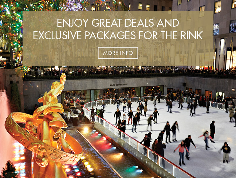 Enjoy great deals and exclusive packages for the Rink | Get More Information