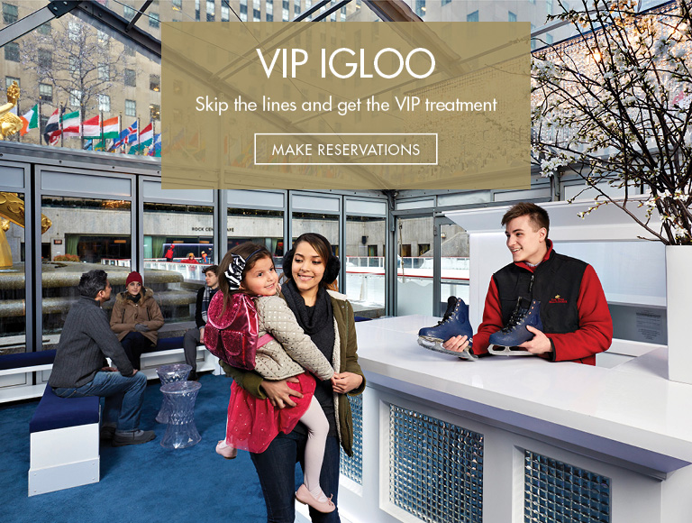 Skip the lines and get VIP treatment | Make Reservations for VIP Igloo