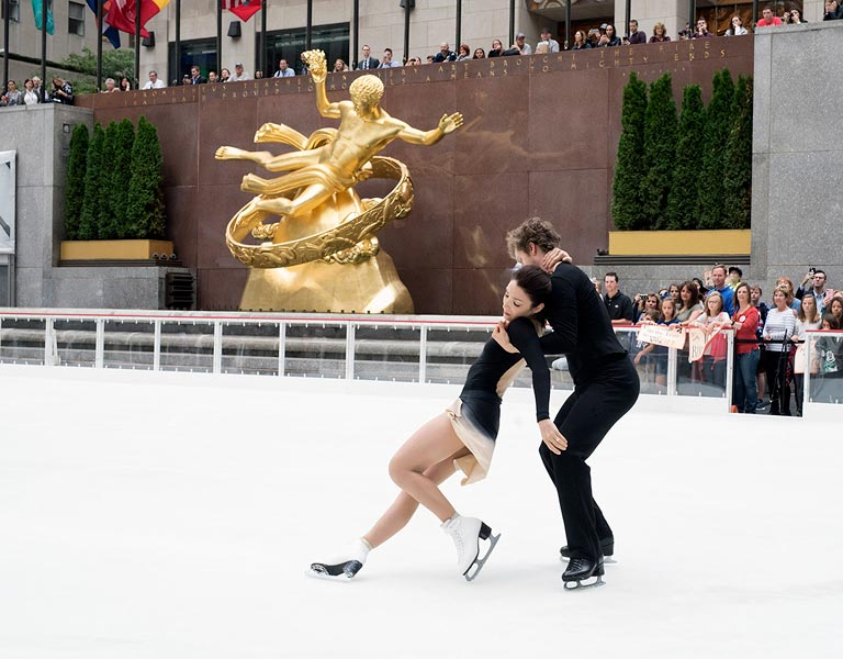 Figure Skating Couple