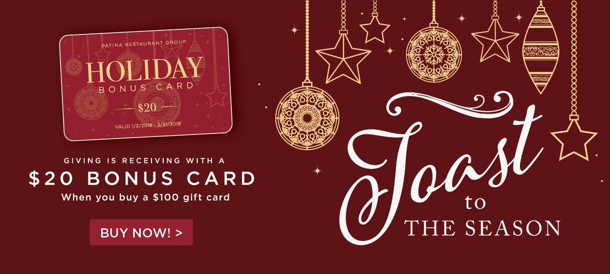 Christmas restaurant gift card deals 2018 - Christmas cards 2018
