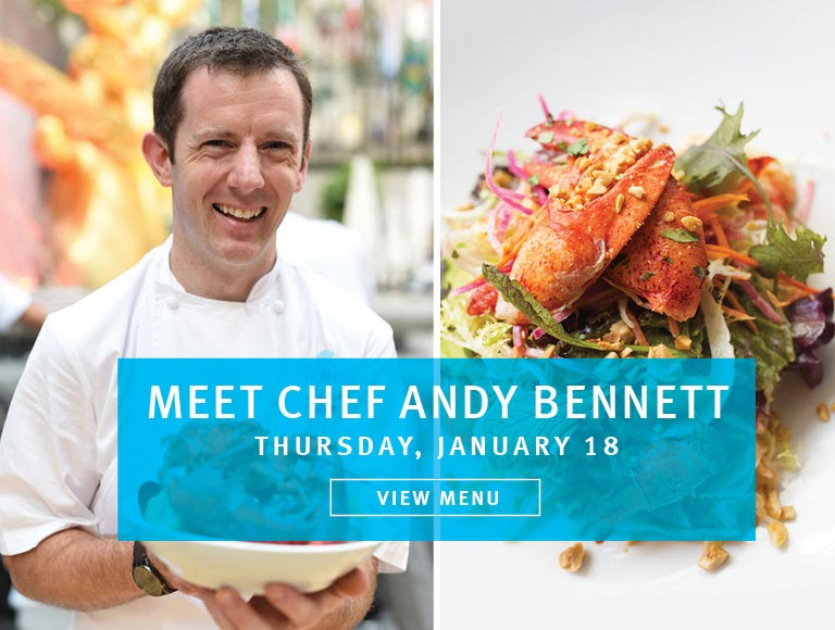 Meet Chef Andy from the Sea Grill