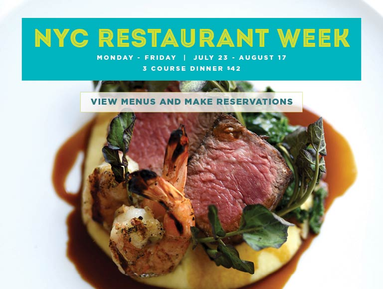 View Menu for New York City Restaurant Week at the Sea Grill