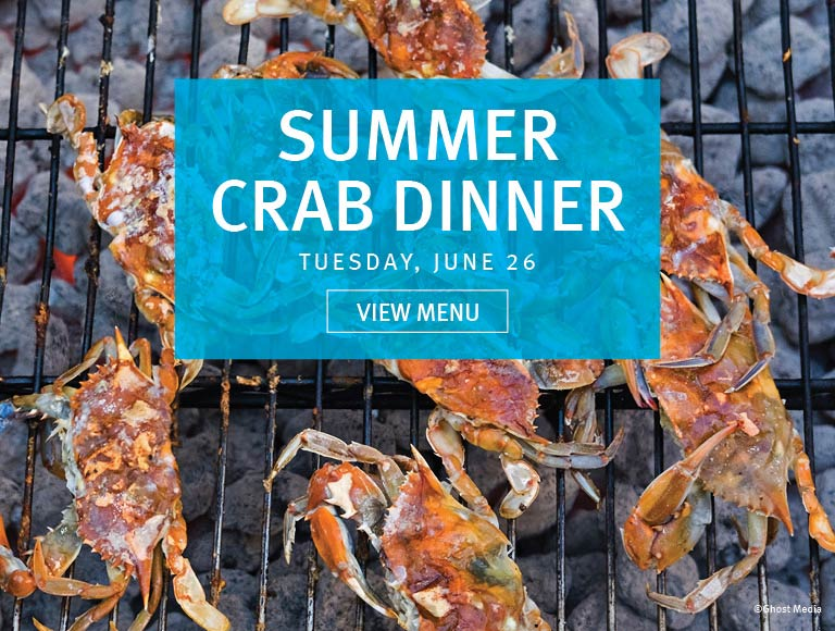 Summer Crab Dinner, Rockefeller Center, NYC