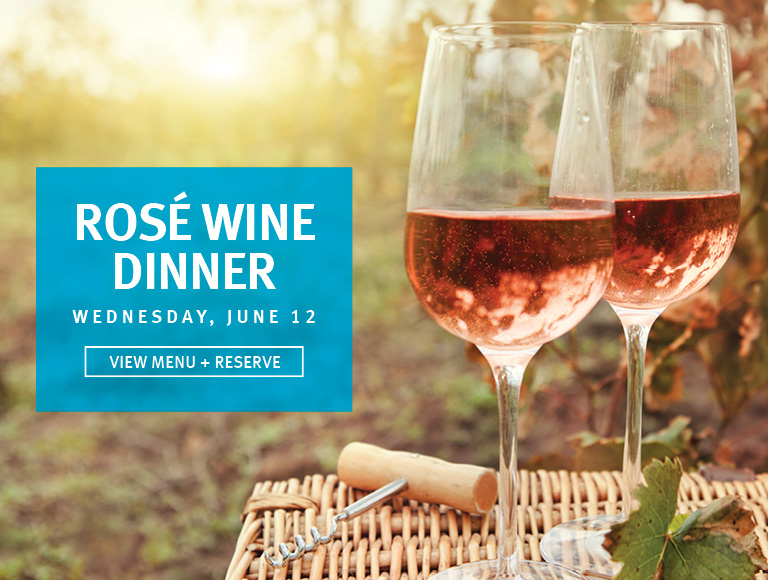 View Menu & Reserve | Rosé Wine Dinner at The Sea Grill at Rockefeller Center in NYC | Wednesday, June 12