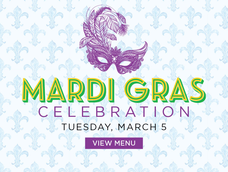 Mardi Gras Celebration, March 5, 2019 | View Menu | Dining at Rockefeller Center, NYC