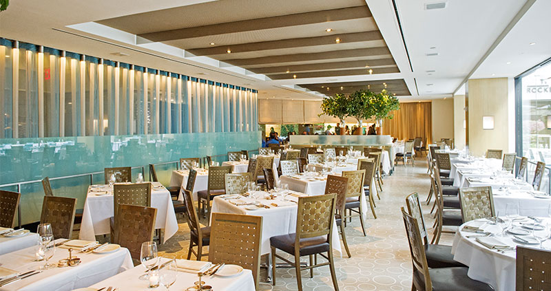 The Sea Grill At Rockefeller Center Seafood Restaurant In New York Ny
