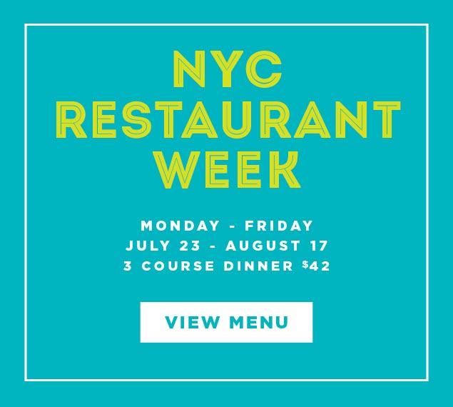 Reserve Now For Summer Restaurant Week