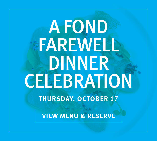 View Menu & Reserve | A Fond Farewell Dinner Celebration at The Sea Grill in Rockefeller Center | Thursday, October 17