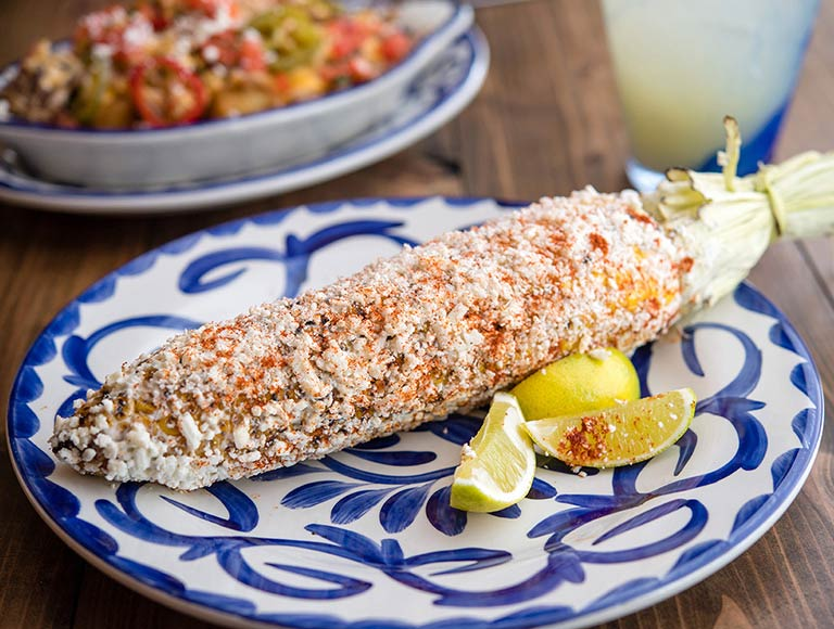 Mexican Corn at Tortilla Jos Disney