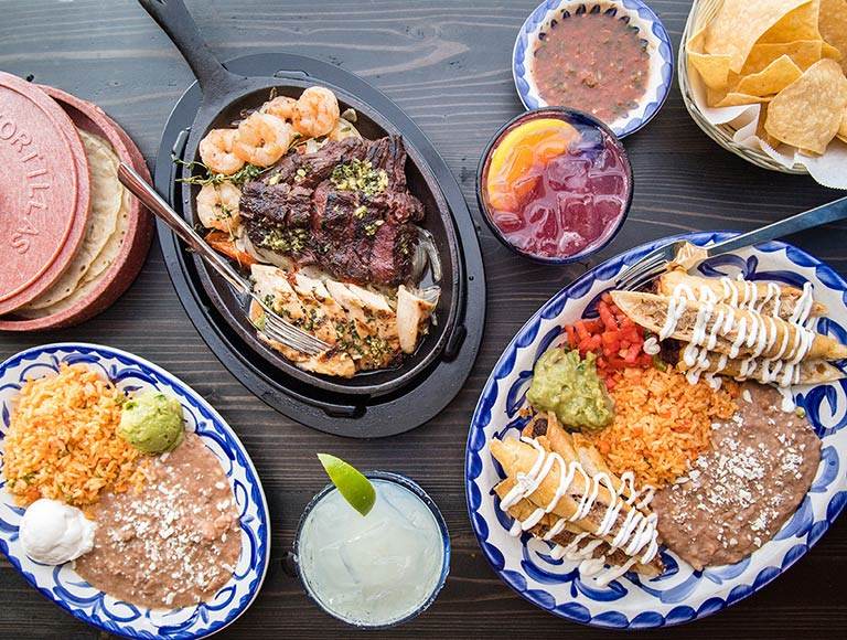 Mexican Platter at Tortilla Jos Disney