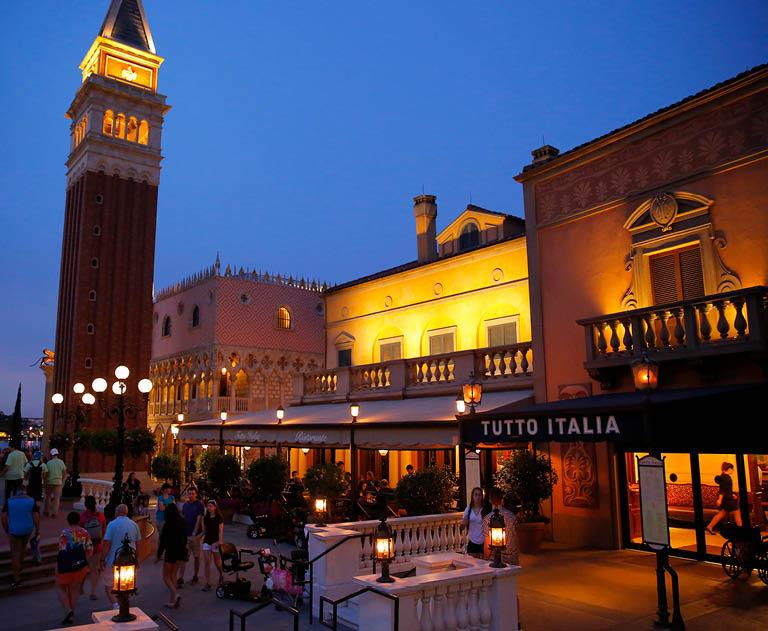 Tuttu Italia Ristorante Exterior | Walt Disney World, Orlando, Florida