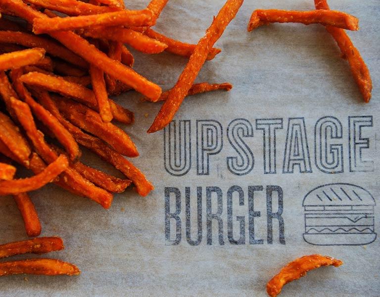 Upstage Burger, Sweet Potato Fries