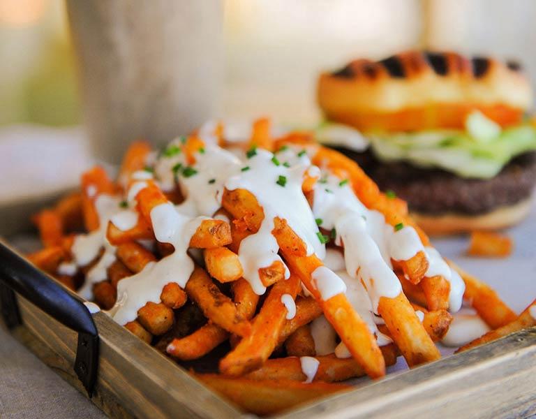 Truffle Fries, quick dining, LA Music Center