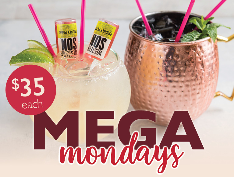 Mega Mondays at Uva Bar & Cafe | $35 each