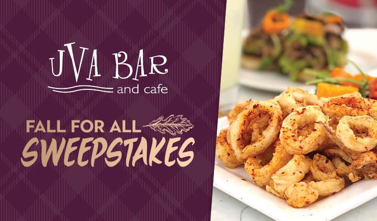 Win dinner for four at Uva Bar