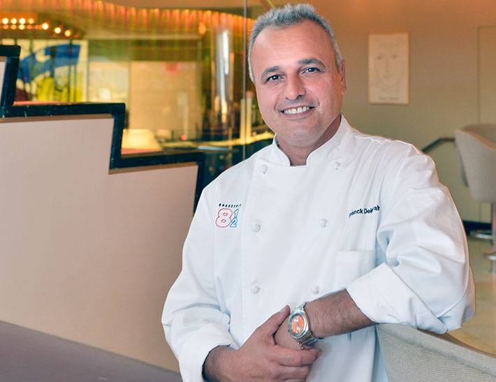 Executive Chef Franck Deletrain