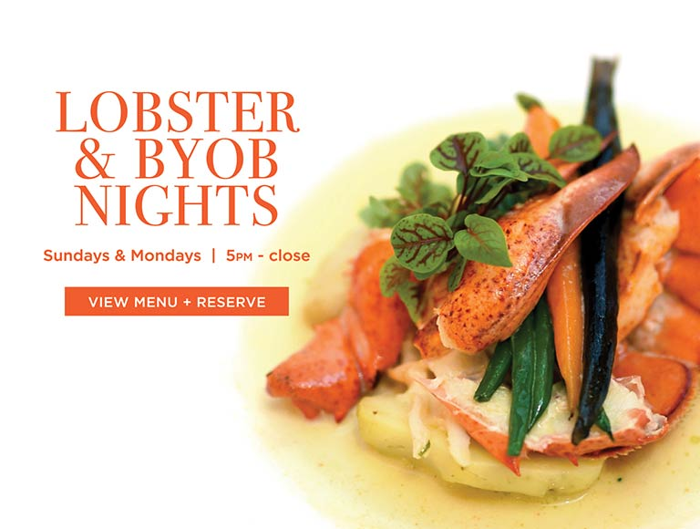 Lobster and BYOB Nights, Midtown East New York City Restaurant