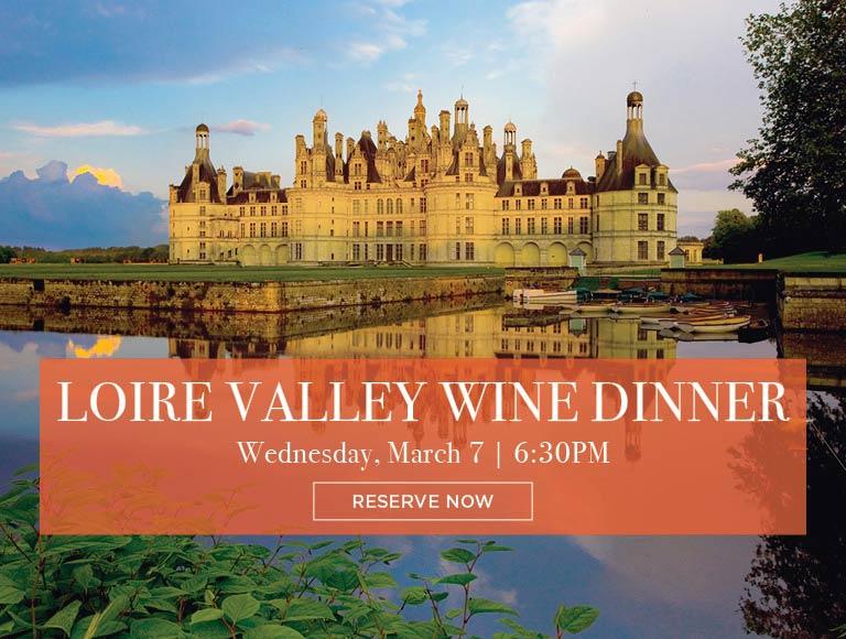 Loire Valley Wine Dinner 2018