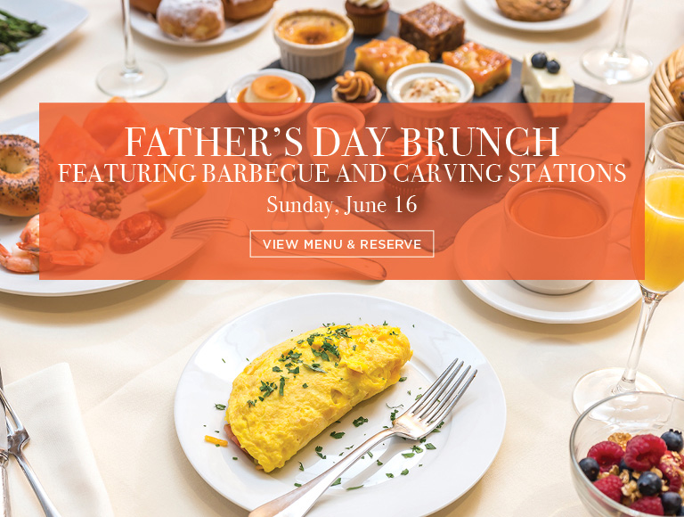 View Menu & Reserve | Father's Day Brunch at Brasserie 8 1/2 on Sunday, June 16 | Midtown NYC Father's Day Restaurants
