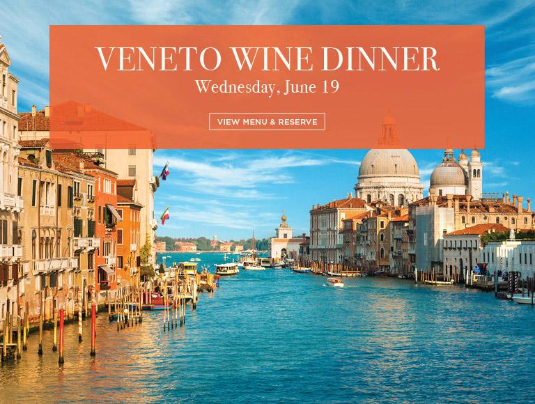 View Menu & Reserve   Veneto Wine Dinner at Brasserie 8 1/2 in New York City   Wednesday, June 19