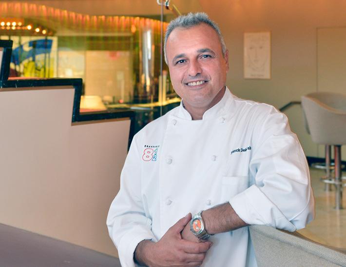 Chef Franck Deletrain