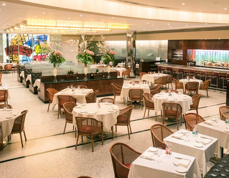 Brasserie 8.5 Dining Room, Midtown Restaurant, New York City