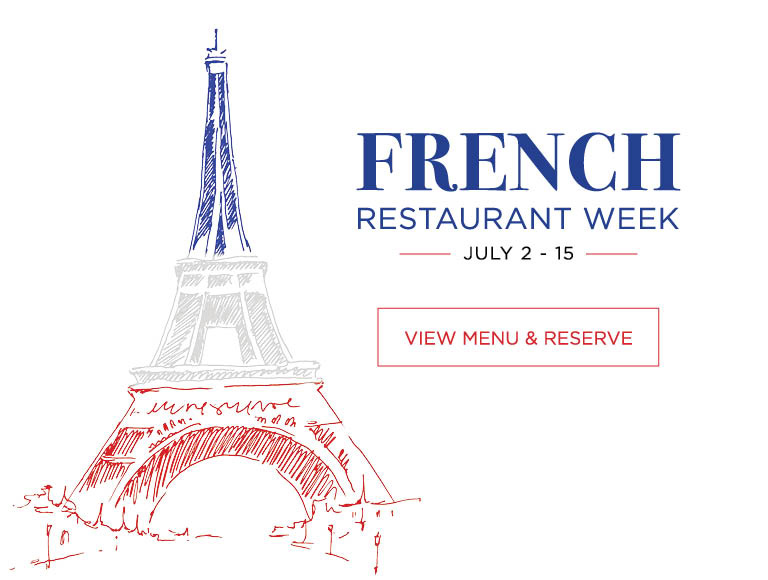 Fernch Restaurant Week July 2 - 15 2018